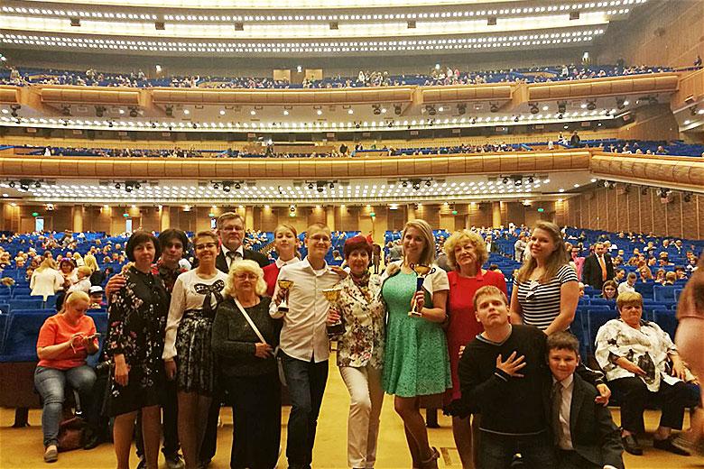 На конкурсе в Москве
