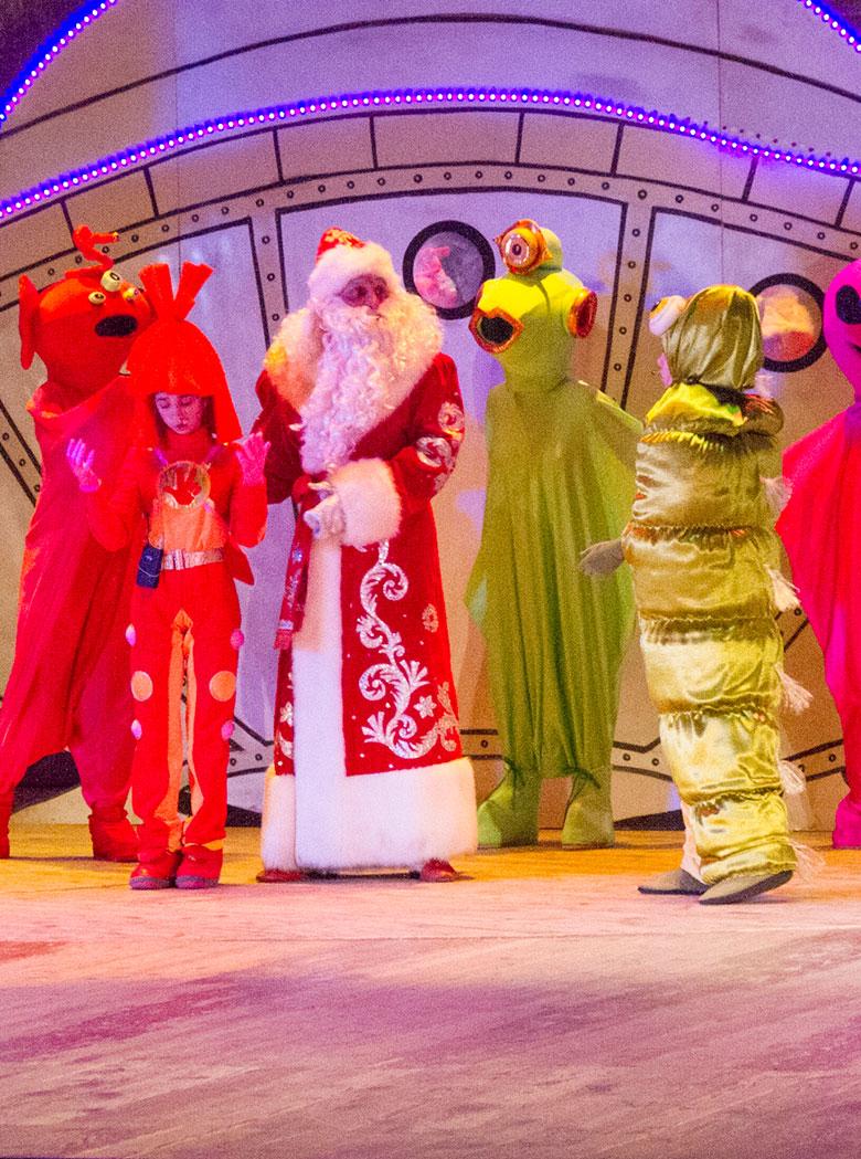 Космическое приключение Деда Мороза